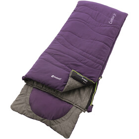 Outwell Contour Sleeping Bag Kinder eggplant purple